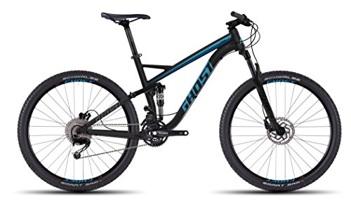 Ghost Kato FS 2 27.5R Fullsuspension Mountain Bike 2016 (Schwarz/Blau, L/50cm)