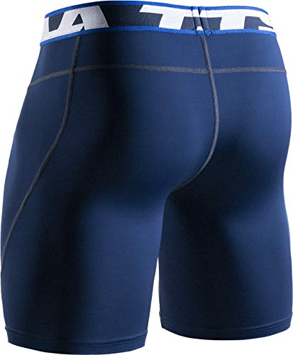 TSLA Men's Athletic Compression Shorts