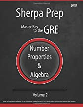 Number Properties & Algebra (Master Key to the GRE) (Volume 2)