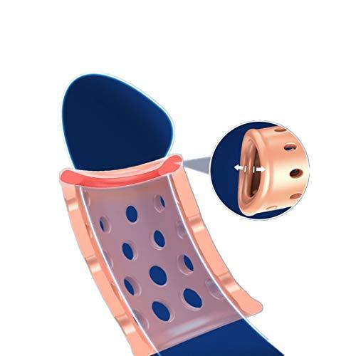 Irue Ahueca hacia Fuera diseño Transpirable Deportes Engranajes - Pack de 5pcs en Diferentes tamaños y Formas