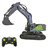 Trueornot RC Escavatore 1:14 22CH Telecomando Escavatore RC Digger Grab Truck Toy Engineering Veicolo Modello