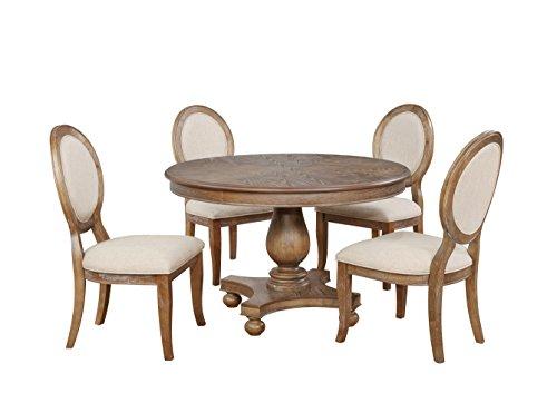 Powell Furniture Lenoir 5 PC Dining Set, Multicolor