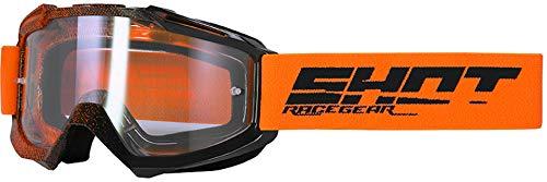 Shot Aussault Elite Motocross Brille Orange/Schwarz