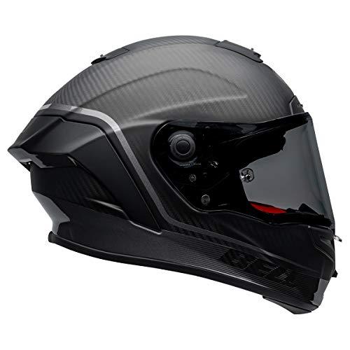 BELL Race Star Flex DLX Helmet (Velocity Matte/Gloss Black/Hi-Vis - Medium)