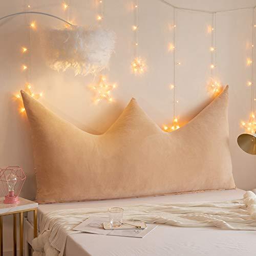 ZCY kroon bed kussen kussen dubbel bed lange hoofdkussen rugleuning kussen Lumbar Pad voor dag bed stapelbed of slaap hoogte BC1022