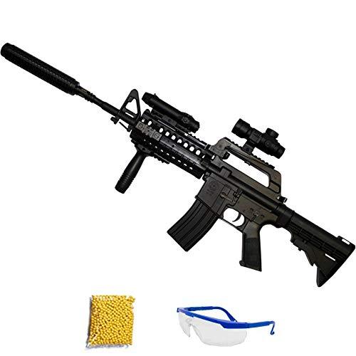 Ecommur Rifle Muelle MR799 M4 (6mm) - Rifle de Airsoft Calibre 6mm (Arma Larga de Aire Suave de Bolas de plástico o PVC). Sistema: Muelle <3,5J
