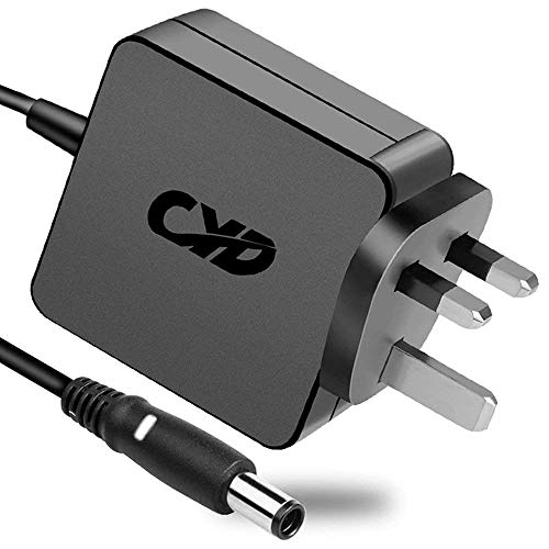 CYD 65W Powerfast Replacement for Laptop-Charger Dell-Inspiron 11 13 14 15 17 Series 15 3000 15 5000 Chromebook 11 3000 (3181) Wall Plug Charger Vostro 14 3458 15 3558 Compatible Power AC Adapter Cord
