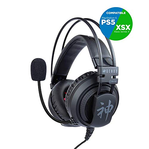 FR·TEC - Auriculares Gaming Headset Genbu - PS4, Xbox One, Nintendo Switch, PC, Mac