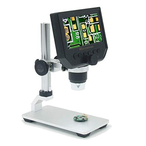 YIONGA CAIJINJIN Microscopio Digital 1-600x 3.6MP Microscopio electrónico Digital portátil de 4.3'HD Soldering VGA Magnifier de Video microscopio para la reparación de la Placa Base PCB