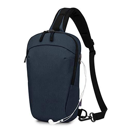 Wind Took Sling Bag Chest Bag Gym Shoulder Bags Crossbody Bag Lightweight Outdoor Sport Travel Hiking Casual Daypack for Men Women