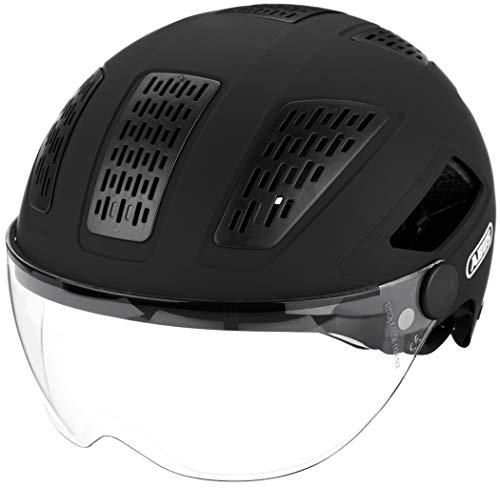 ABUS Unisex-Erwachsene HYBAN 2.0 ACE Fahrradhelm, Schwarz (velvet black X), XL (Extragroß)