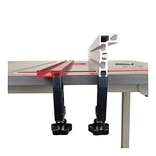 Wishful 2pcs / Set Clips de fijación de la carpintería Especiales G Abrazadera for la Madera Valla de Trabajo Y 75 Tipo T Pista de Ranura más Gruesos Clips de los 65MM