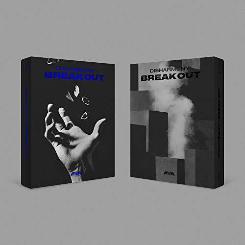 FNC Ent. P1Harmony - Disharmony : Break Out (2nd Mini Album) Album+Folded Poster (Freak Out ver.)