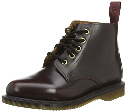 Dr. Martens Women's Emmeline Boot, Cherry Red Arcadia, 8
