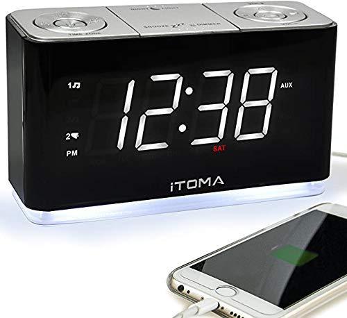 Radio Despertador  marca iTOMA