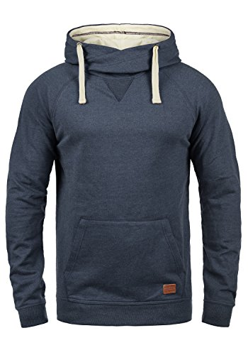 Blend Sales Herren Kapuzenpullover Hoodie Pullover mit Kapuze, Größe:XL, Farbe:Navy (70230)