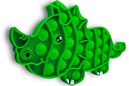 pop it xxxxl SnooZy KIDS Pop It Fidget Toys Rhinoceroi Poppit Antistress - Popite - Popits Rhinoceroi Fidget Toys - Questo giocattolo in silicone cattura l'attenzione dei bambini autisti
