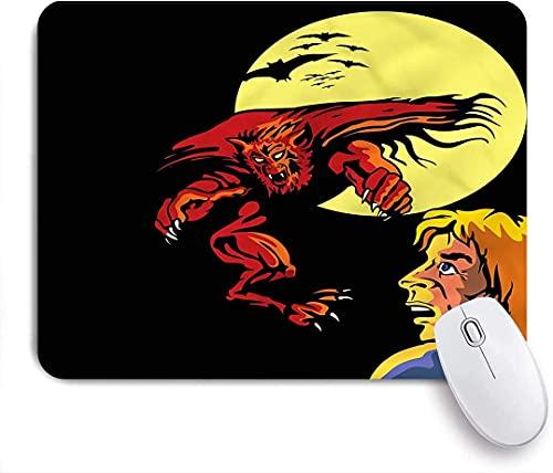 Alfombrilla para ratón para Juegos, Super Heros Monsters, Alfombrilla para ratón con Base de Goma Antideslizante para Ordenadores portátiles Alfombrillas para ratón - 25 cm x 20 cm