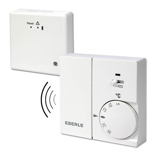 Thermostat Funk-Set RTR Eberle Festanschluss