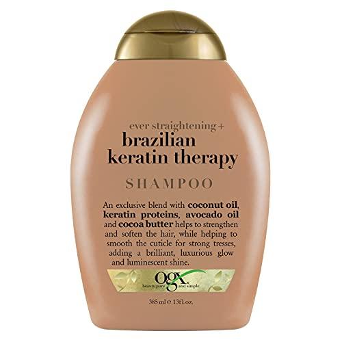 OGX Ever Straightening Brazilian Keratin Therapy Shampoo, 385 ml