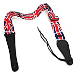 Bray Terylene Union Jack Strap For Guitar Hero & Rock Band Guitars On PS3, PS2, Xbox 360 & Wii (Compatible With The New Guitar Hero: Warriors of Rock, 6, 5, 4, 3, 2 & 1)