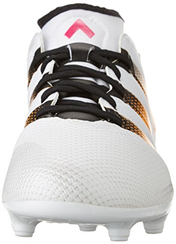 adidas Performance Women's Ace 16.3 Primemesh FG/AG W Soccer Shoe,White/Gold/Shock Pink,9 M US