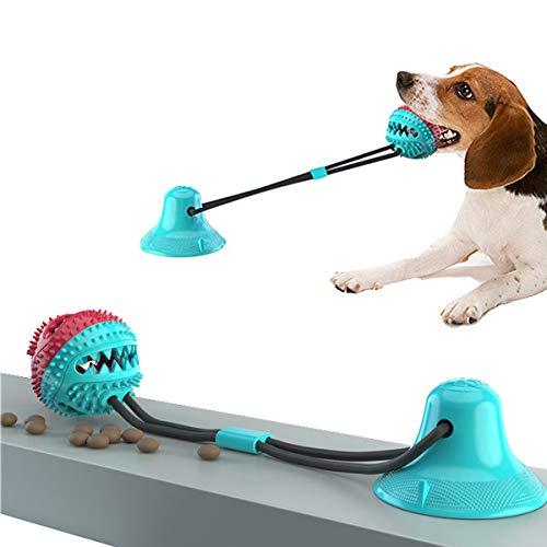 JEANGO Spielseil für Hunde, blaues TDR Sucker Hundespielzeug, geeignet für mittelgroße Hunde und Welpen