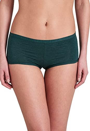 Schiesser Women's Damen Personal Fit Shorts Hipster-Höschen Underwear, Bottle Green, M