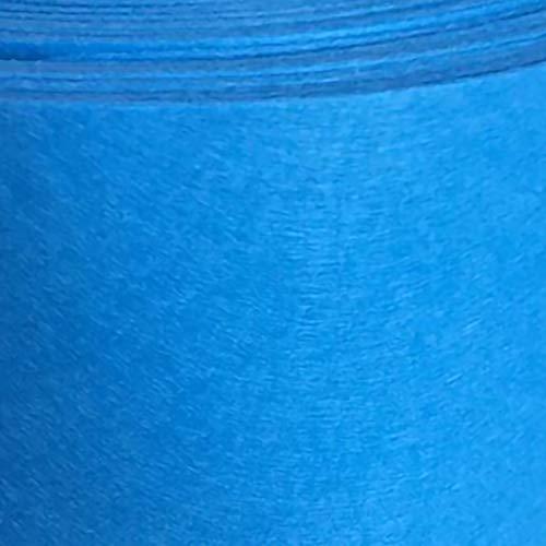 ZXC Hoja de Fieltro Tela de Fieltro 1m de Ancho Telas Manualidades para Patchwork Costura DIY Artesanías de Bricolaje Manualidades 1m Vendido por Metro(Color:Lago Azul)