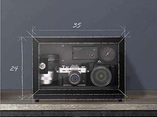 防湿庫Re:CLEAN日本製アナログ湿度計カメラ用ドライボックス21L5年保証RC-21L