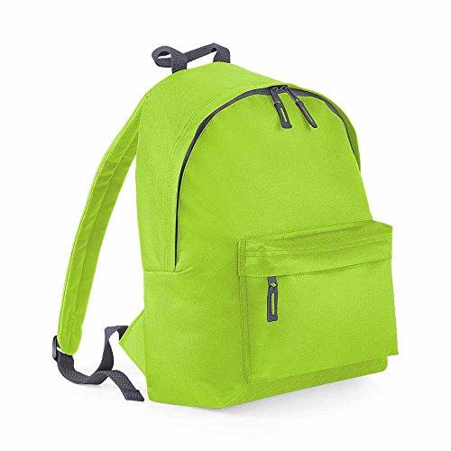 Bag Base Mixte Bg125ligp Original Mode Sac à Dos, Vert Citron/Gris Graphite, Medium