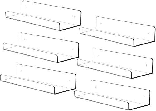 estantería flotante fabricante Cq acrylic