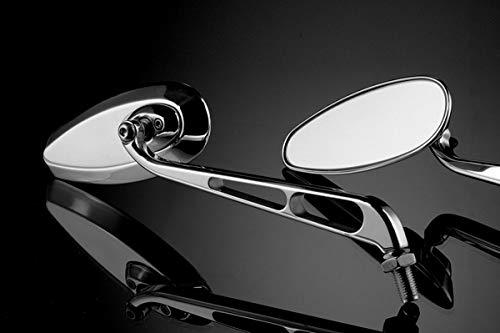 Productos Universales - Kit Espejos 'Race' (RM-0110PY/CP) - Retrovisores Laterales Manillar - Aluminio - Accesorios De Pretto Moto (DPM Race) - 100% Made in Italy