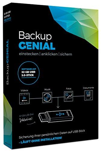 S.A.D Backup Genial - inkl. 32 GB USB 3.0 Stick