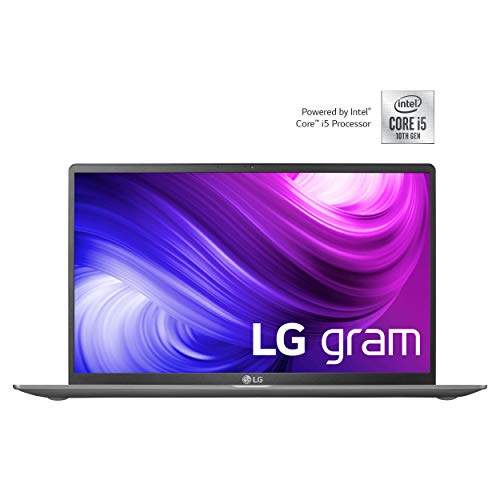 LG gram 15,6 Zoll Business Notebook - 1,12 kg leichter Intel Core i5 Laptop (8GB DDR4 RAM, 512 GB SSD, Full HD IPS Display, Thunderbolt 3, Windows 10 Home) - Dunkelgrau