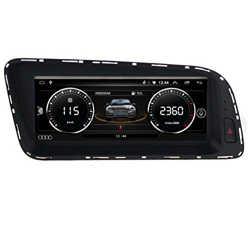 TOPNAVI 8,8 Pouces Android 6.0 tête Radio pour Audi Q5 2010 2011 2012 2013 2015 2015 2015 2017 2017 Radio Voiture Radio GPS Navigation WiFi 3G RDS Miroir Lien FM Bluetooth
