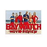 Baywatch 10 klassische Film-TV-Poster, Wandkunst, gerahmt,
