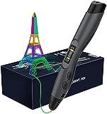 Aerb 3D Penna Stampa, Con Schermo LCD e Controllo della Temperatura, 8 diversi livelli Velocità regolabili, 3D Penna Compatibile Con PLA/ABS, Regalo Per Bambini, Adulti, Artista