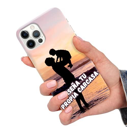 CuteCases Clear Funda de Teléfono LG K7 Personalizada con Foto Personalizado (Cree su Propia Imagen) Cubierta Protectora Caso de Silicona Duradera de TPU Suave