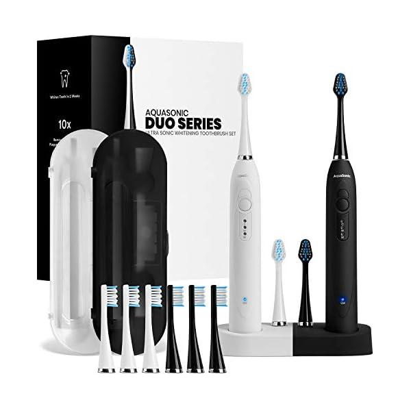 AquaSonic Duo Ultra Whitening Electric Toothbrush