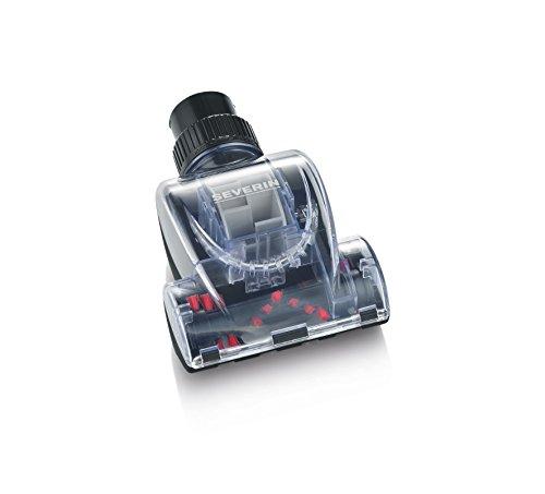 Severin Mini-spazzola turbo per aspirapolvere a traino, Include 2 adattatori di riduzione, 17,5 x 12 x 7 cm, TB 7215