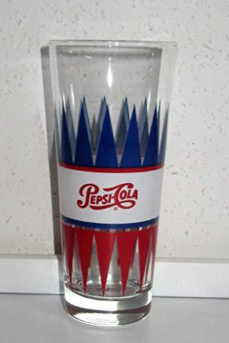 Glas / Pepsi-Cola / Colaglazen / Origineel / verzamelglas / 1 x 0,3 liter / Retro / Vintage