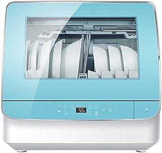 WYZXR Lavavajillas Independiente Inteligente para el hogar Completamente automático, operación de Control táctil, el hogar Puede acomodar 6 Juegos de electrodomésticos de Cocina