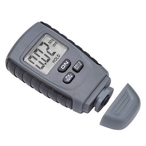 Mini-LCD-Digitalanzeige Lackdickenmessgerät Autolackmessgerät Test Instrumen Optimal für die Messung der Lackdicke in Kraftfahrzeugen