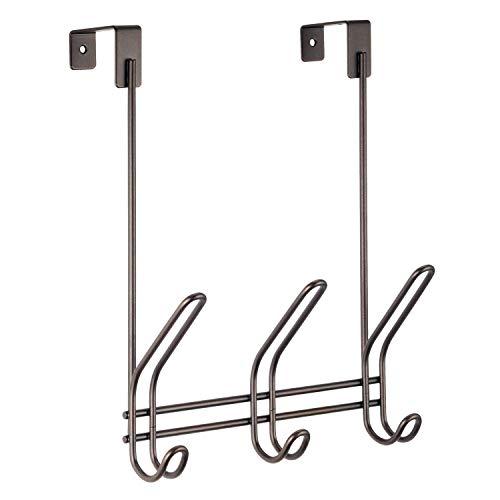 iDesign Classico OTD 3 Hook Rack, Bronze