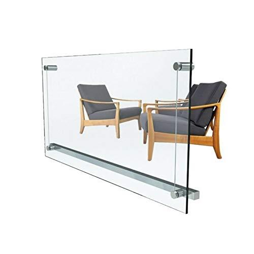 Infrarot-Heizung 750W Heizpaneel-e Transparente Glas-Heizung Infrarot-Strahler [Energieklasse A+]