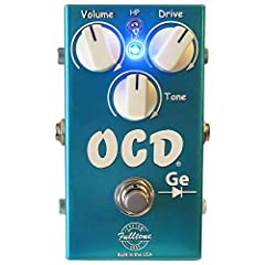 Limited Edition Guitar Overdrive Effects Pedal with Germanium Diodes Hard-clip MOSFET Transists