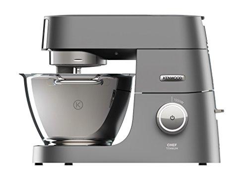 Kenwood Kvc7300s Chef Titanium keukenmachine, 1500 W - zilver, 4,6 l