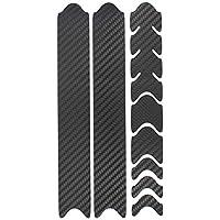 Película Protectora de 8 Piezas para el Cuadro Las Cadenas de la Bicicleta Pegatina Protección MTB BMX Cadena Película protección de Pintura K099