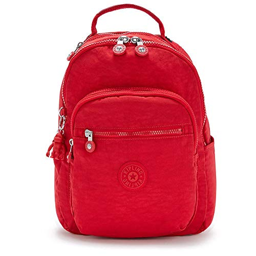 Kipling Backpacks Seoul S Red Rouge